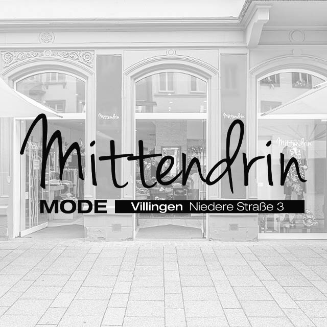 Mode Mittendrin - Mode und Fashion in Villingen